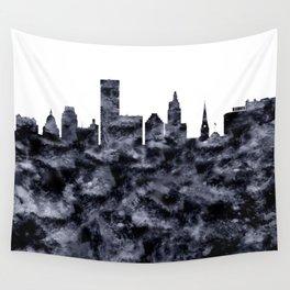 Providence Skyline Rhode Island Wall Tapestry