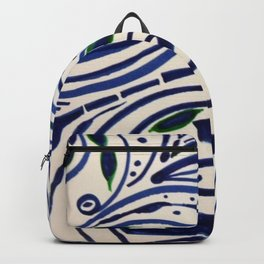 Water Flowing Plant Backpack