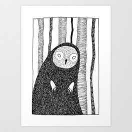 Folklore Friday - La Lechuza Art Print