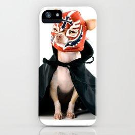 Chihuahua Luchador iPhone Case