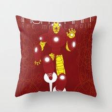 The Metalurgik Throw Pillow