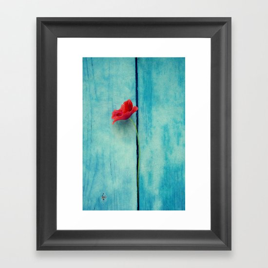 papoula Framed Art Print