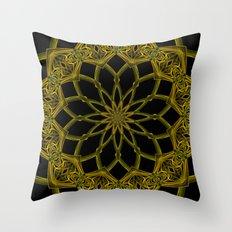 Kaleidoscope 'RK3 SQ' Throw Pillow