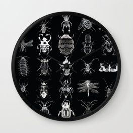 Wild Wild Bugs Wall Clock