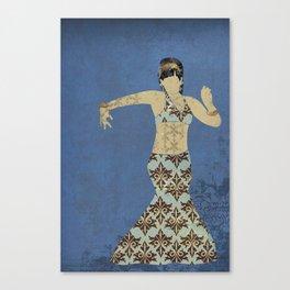 Belly dancer 4 Canvas Print