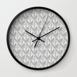 Goyard White Wall Clock