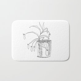 pitcher plant Bath Mat