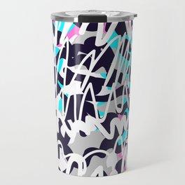 Graffiti illustration 02 Travel Mug