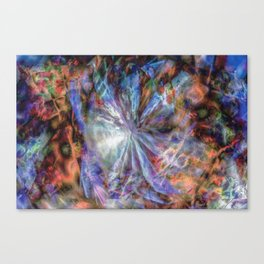 Oort Cloud - Digital Abstract Expressionism Canvas Print