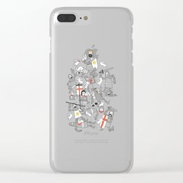 Bad-tempered Rodents Clear iPhone Case