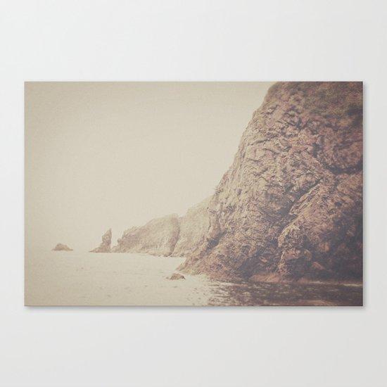Rustic Ocean Canvas Print