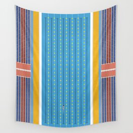 Freestyle Stroke | Aerial Illustration Wall Tapestry