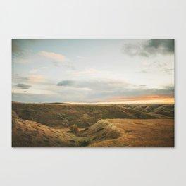Fall Hills Canvas Print