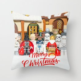 Star war Christmas Throw Pillow