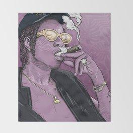 Joey Bada$$. (purp) Throw Blanket