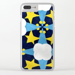 Stars Aligned Clear iPhone Case