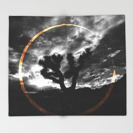 Sacred Joshua Tree — Icons & Relics. Throw Blanket