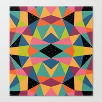 kaleidoscope Canvas Prints featuring Kaleidoscope by Andy Westface