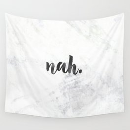 NAH Marble Quote Wall Tapestry