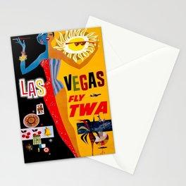 Lady Las Vegas Stationery Cards