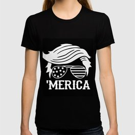 Trump merica, trump 2020, merica art T-shirt