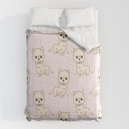 Cute llama pattern Comforters