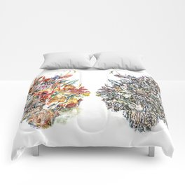 Flora and Fauna Combined Comforters