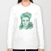 ships Long Sleeve T-shirts featuring Paper ships II by Pendientera