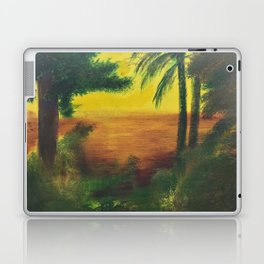 Day in the wetlands Laptop & iPad Skin