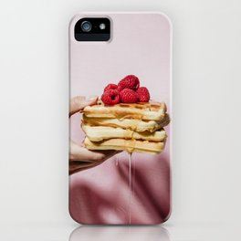 Waffles iPhone Case