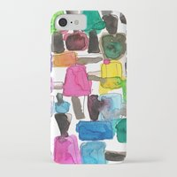 nail polish iPhone & iPod Cases featuring Nail Polish by KahriAnne Kerr