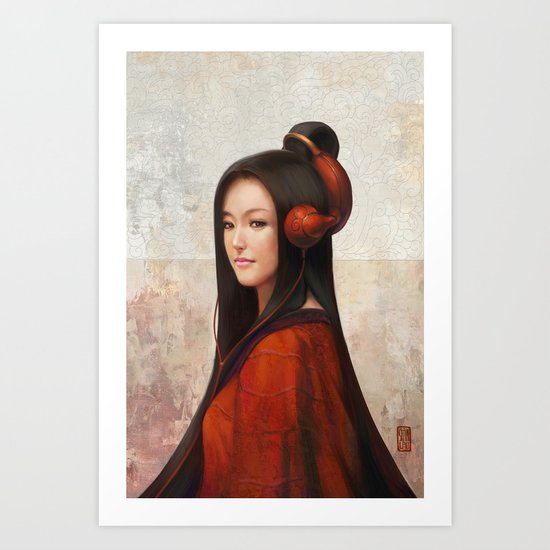 Pepper Orient Art Print