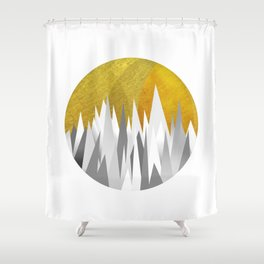 Zackenpunkt No. 2 Shower Curtain