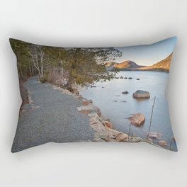 Jordan Pond Trail Rectangular Pillow