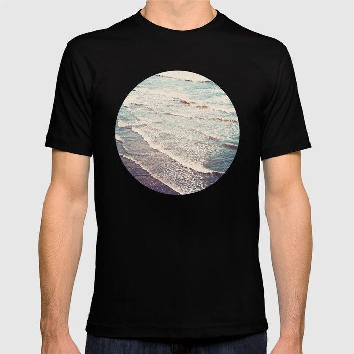 Ocean Waves Retro T-shirt