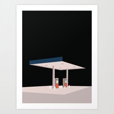 TANKSTATION Art Print