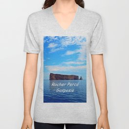 Perce Gaspesie Edition Speciale Unisex V-Neck
