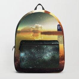 tardis doctor who Backpack