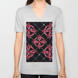 Celtic Knots Unisex V-Neck