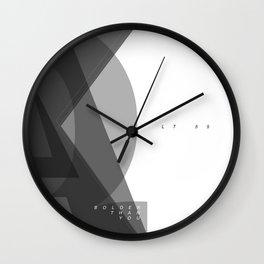 Edged Wall Clock