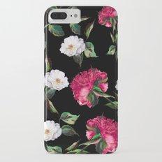 Dark Floral Pattern iPhone 7 Plus Slim Case
