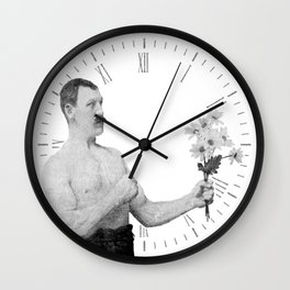 Chivalry, woman. Wall Clock