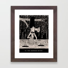 12. THE HANGED WITCH Framed Art Print
