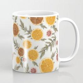 Dried Citrus and Juniper Coffee Mug