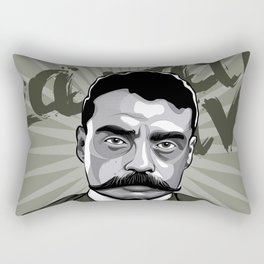 Emiliano Zapata - Trinchera Creativa Rectangular Pillow