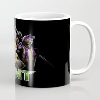 ninja turtle Mugs featuring Ninja Turtle best for birthday and Christmas gift by customgift