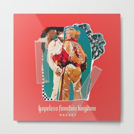 hopeless fountain kingdom Halsey Metal Print