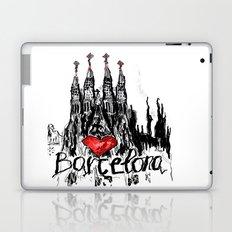 I love Barcelona Laptop & iPad Skin