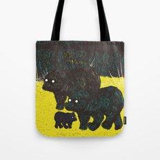 Wandering Bears Tote Bag