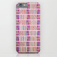 Seamless Colorful Geometric Pattern XXVII Slim Case iPhone 6s